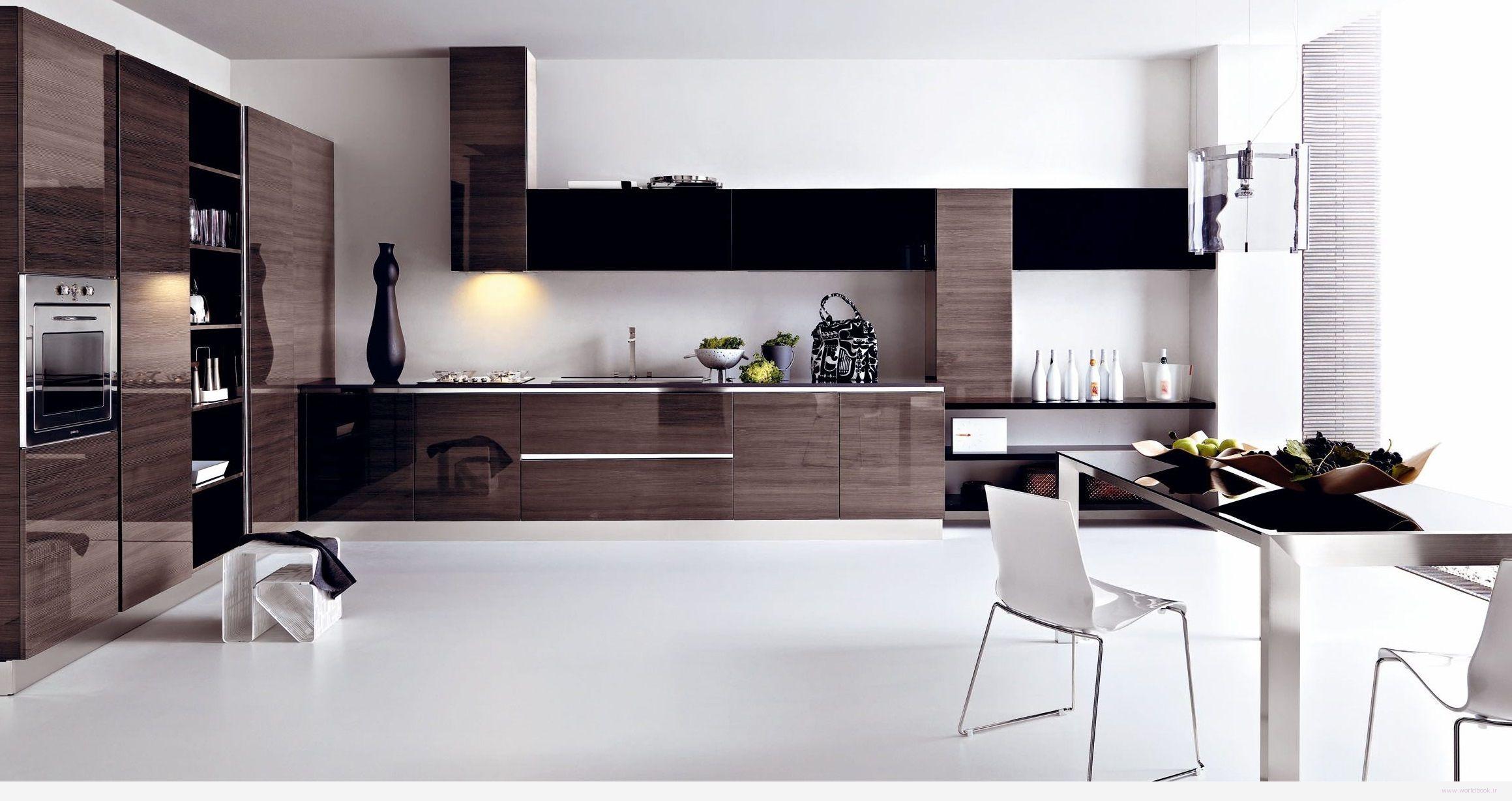 تصویر از مدل طرحهای جدید دکوراسیون آشپزخانه 2015