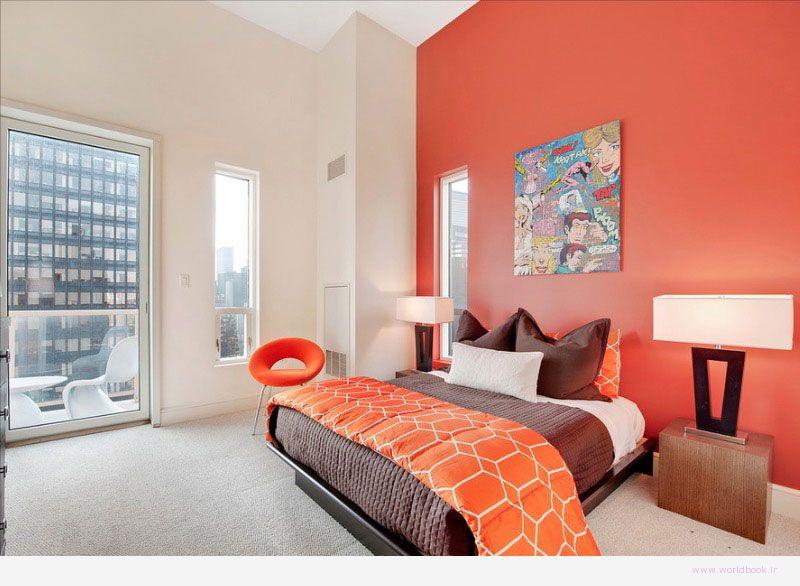 تصویر از مدل طرحهای جدید دکوراسیون اتاق خواب 2015