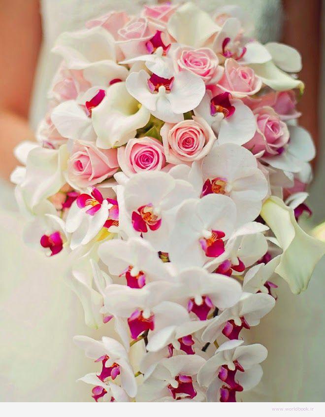 تصویر از مدلهای جدید دسته گل عروس 2015