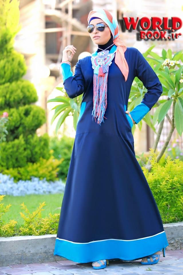 تصویر از تازه ترین مدل لباس زنانه طرح حجاب 2015