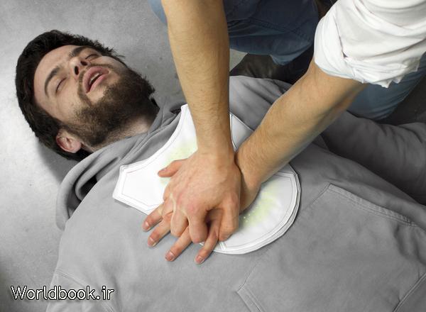 تصویر از احیای قلبی (CPR)