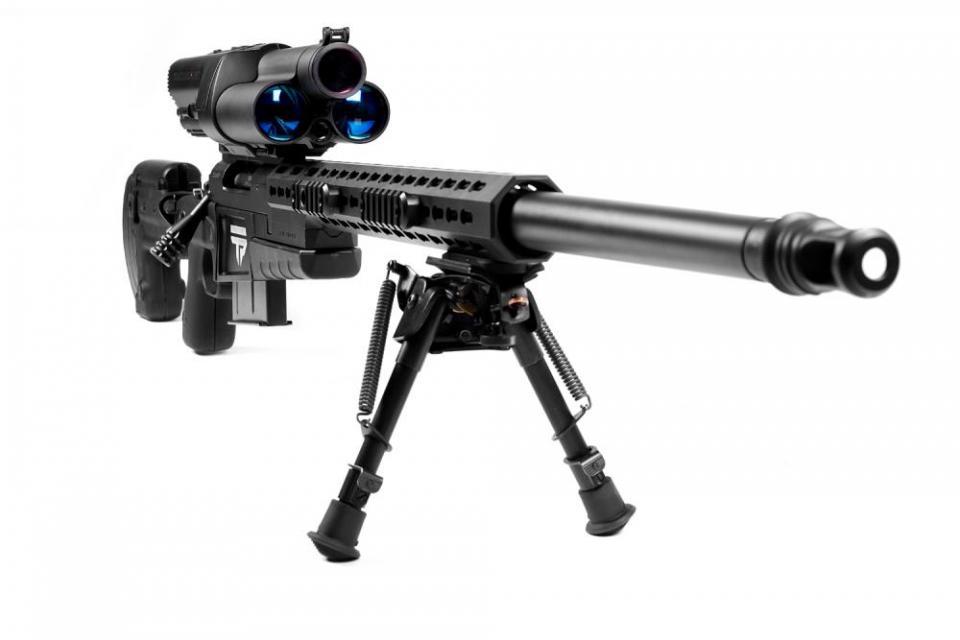 تصویر از پیشرفته ترین اسلحه انفرادی جهان TrackingPoint XS1