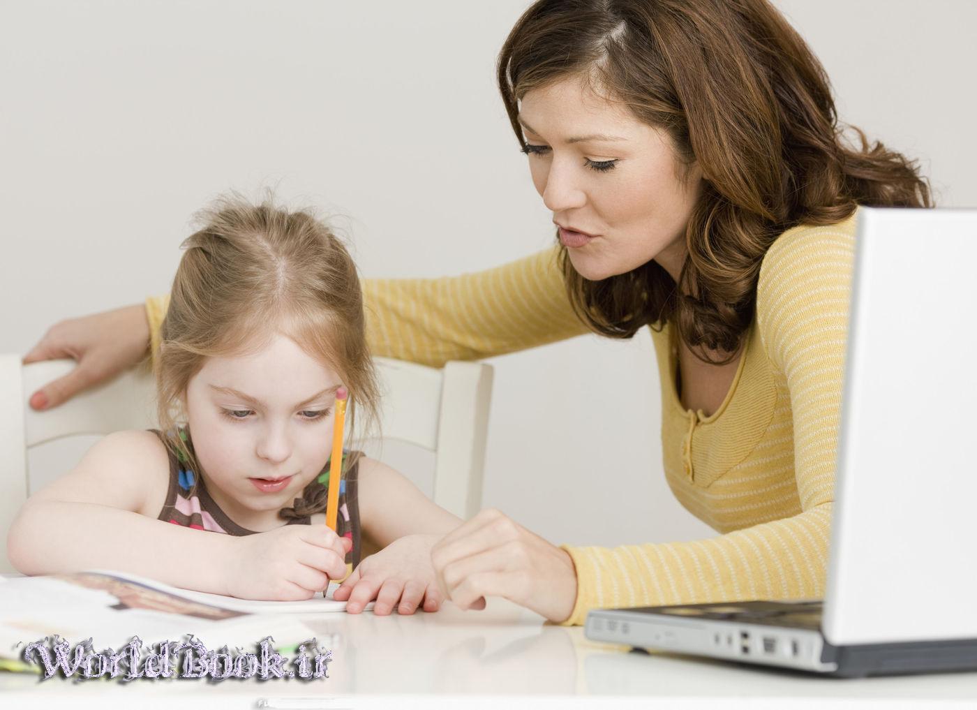تصویر از چگونگی کمک به فرزندانمان در انجام تکالیف مدرسه