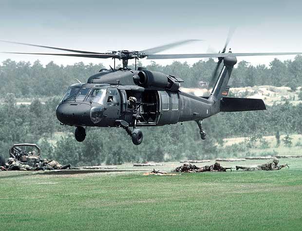 تصویر از بالگرد یواچ-۶۰ بلک هاوک آمریکا Black Hawk UH-60