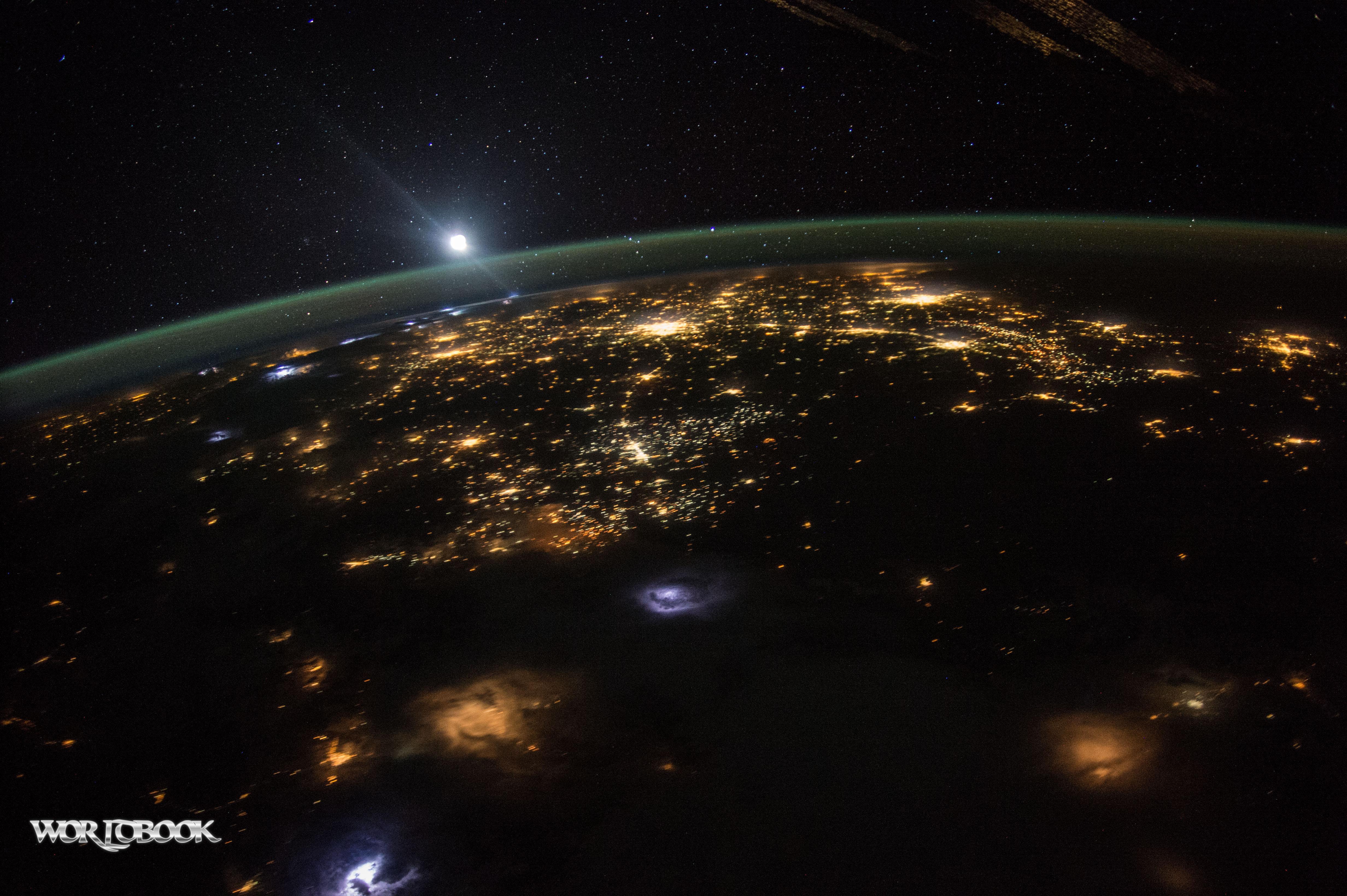 تصویر از تصاویر شگفت انگیز ناسا از فضا