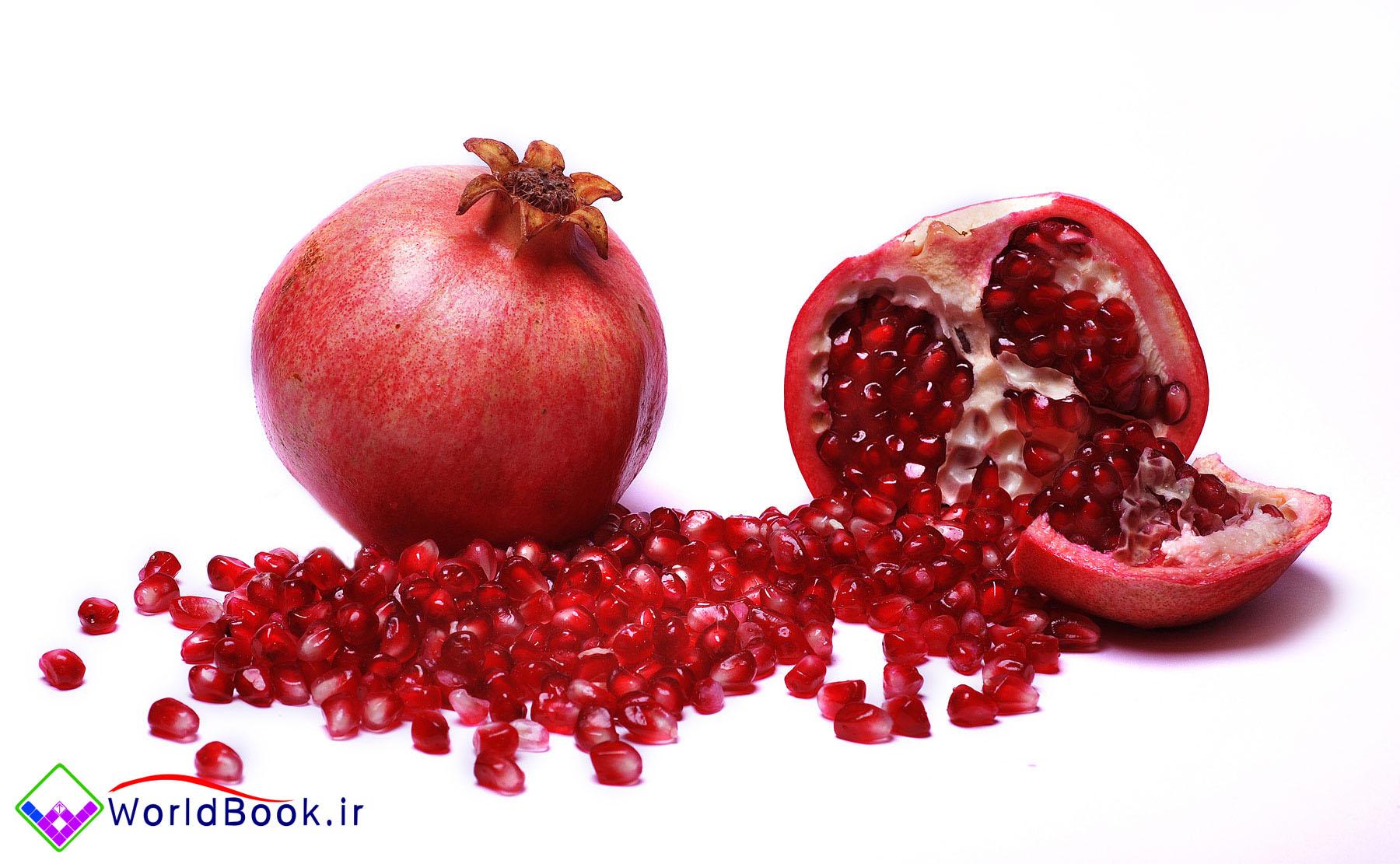 تصویر از انار میوه ای فوق العاده مفید