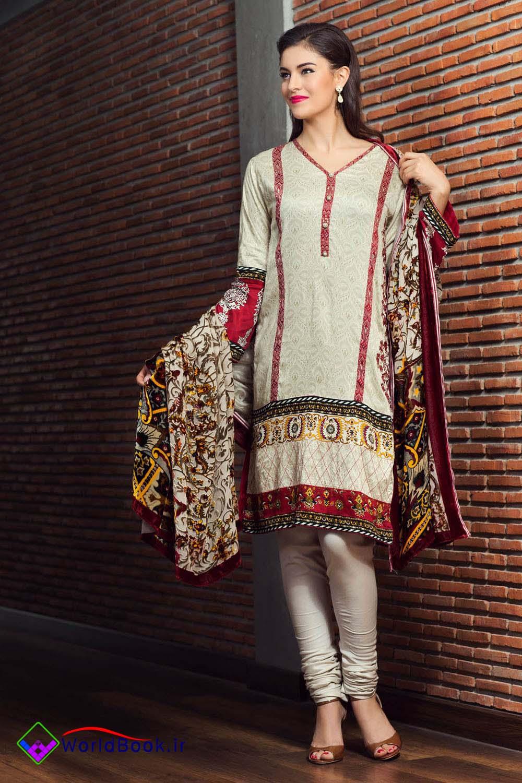 تصویر از مدل لباس جدید زنانه طرح پاکستانی 2016