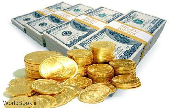 تصویر از قیمت ارز و طلا و سکه آنلاین